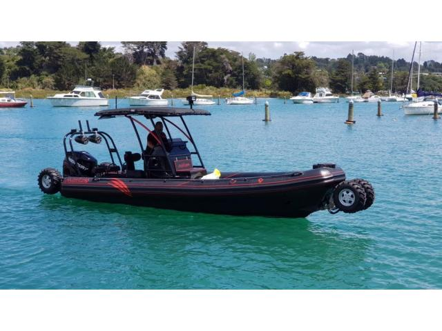 ASIS Amphibious 8.4m with Mercury Verado 250 - 1/10