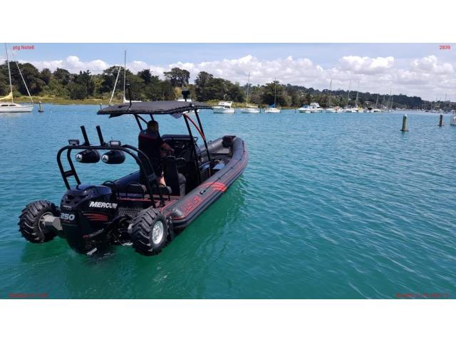 ASIS Amphibious 8.4m with Mercury Verado 250 - 2/10