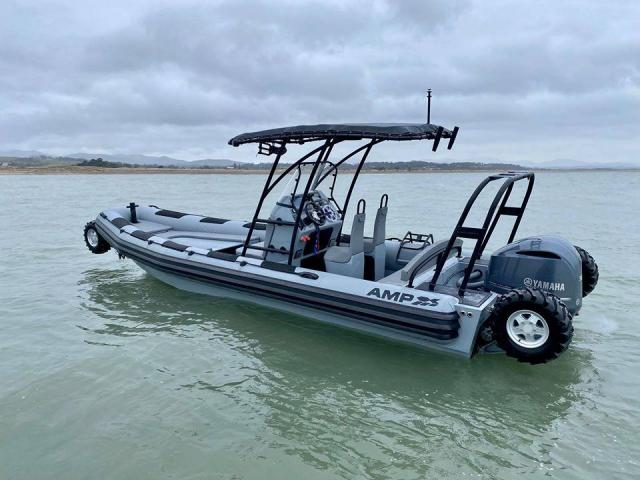 ASIS Amphibious 8.4m with Mercury Verado 250 - 3/10