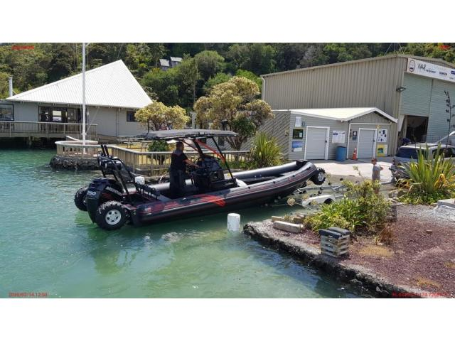 ASIS Amphibious 8.4m with Mercury Verado 250 - 6/10