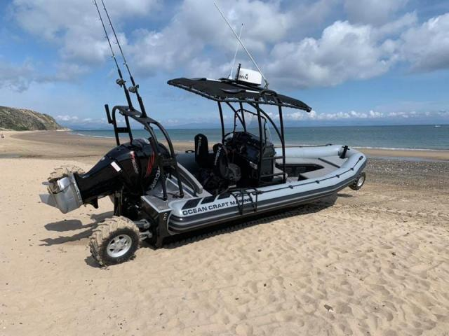 ASIS Amphibious 8.4m with Mercury Verado 250 - 8/10