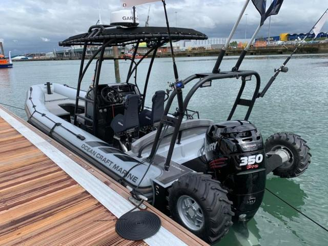 ASIS Amphibious 8.4m with Mercury Verado 250 - 9/10